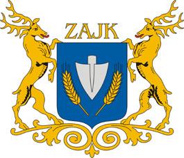 Zajk település címere