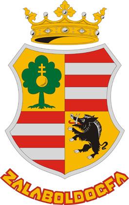 Zalaboldogfa település címere