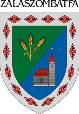 Zalaszombatfa település címere