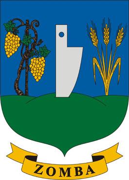 Zomba település címere