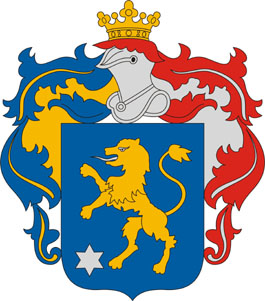 Zsáka település címere