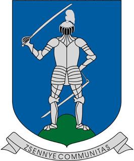 Zsennye település címere